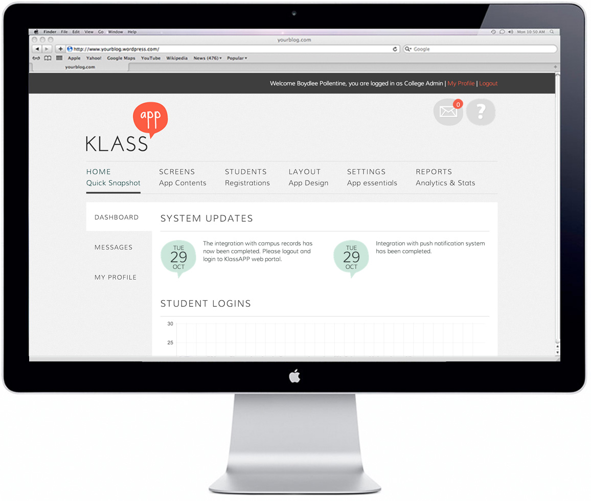 KLASS App - Mobile Development, iOS, Android, Web, Branding and Identity