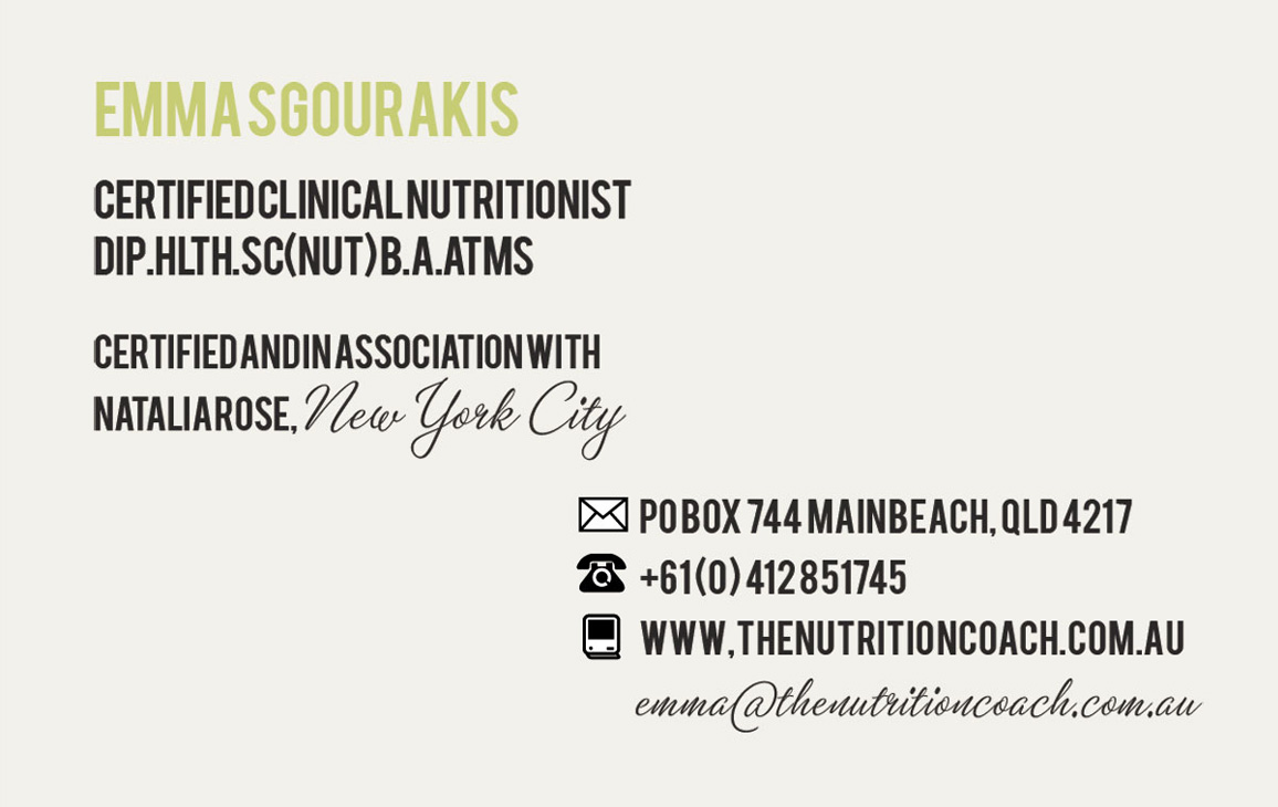 The Nutrition Coach  - Branding and Identity 2