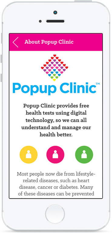 Popup Clinic - Mobile Health Application