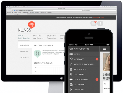 KLASS App - Branding, Identity, Web & Mobile Development